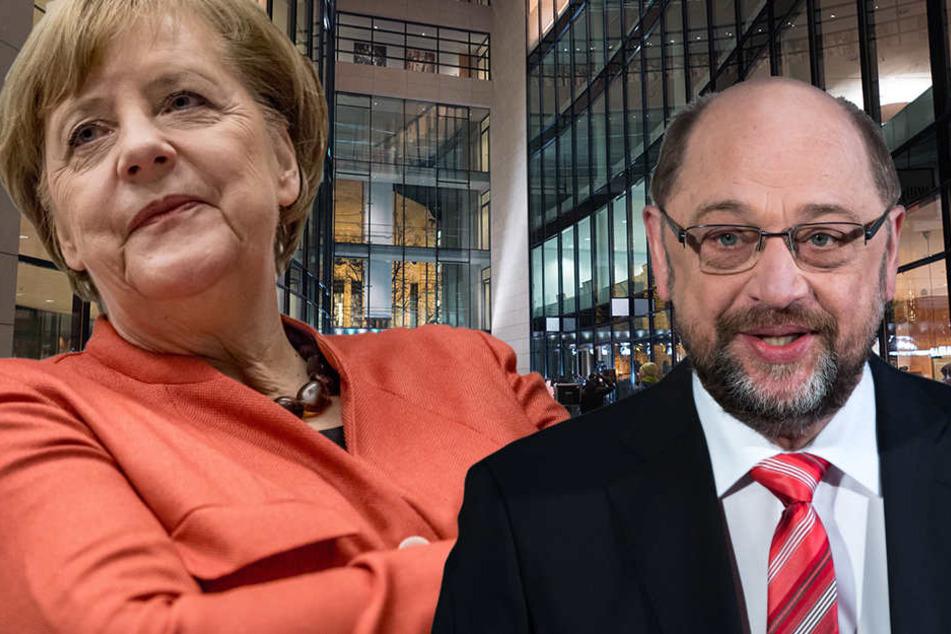 Merkel, Schulz & Co werden gefahren. Betroffen sind vor allem Journalisten.