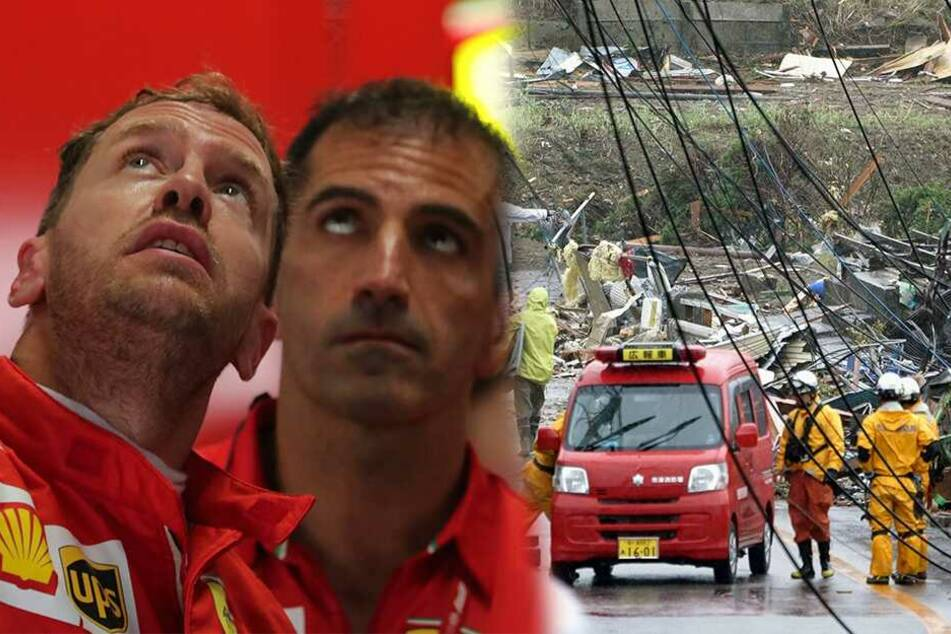 "Formel-1-Qualifying wegen Taifun ""Hagibis"" verschoben"