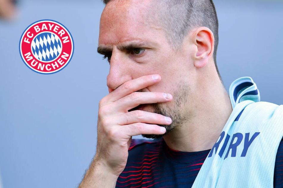 Muskuläre Probleme: FC Bayern ohne Ribéry nach Bremen