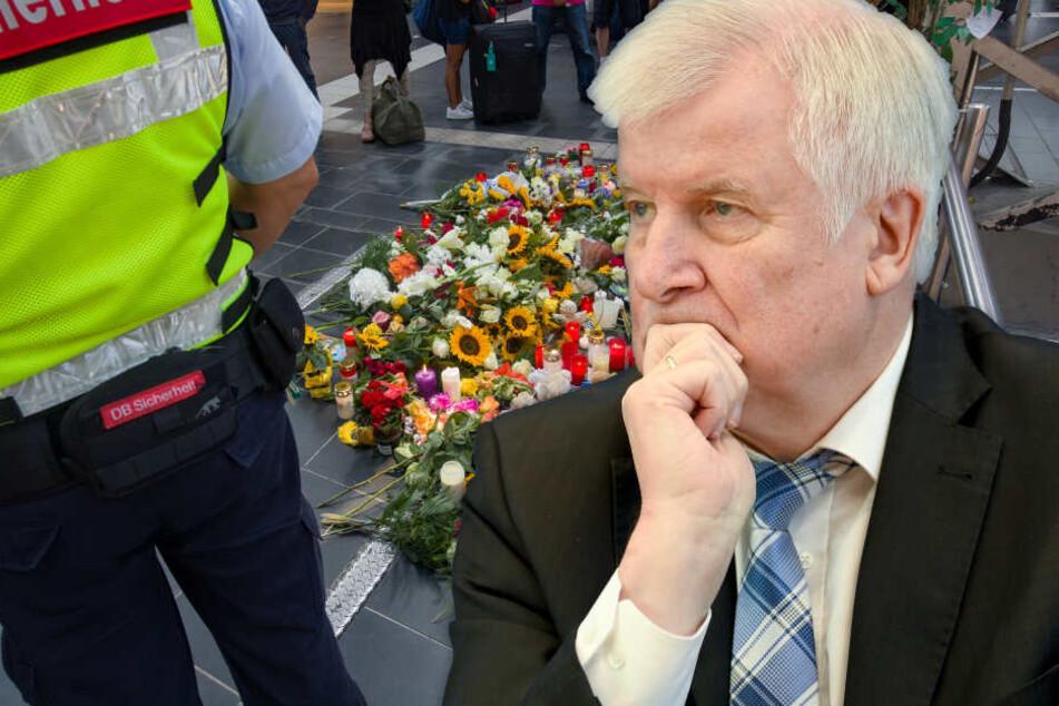 Bundes-Innenminster Seehofer äußert sich zum Todes-Drama in Frankfurt