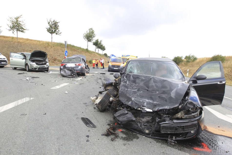 Bei dem Unfall starb eine 66-Jährige.