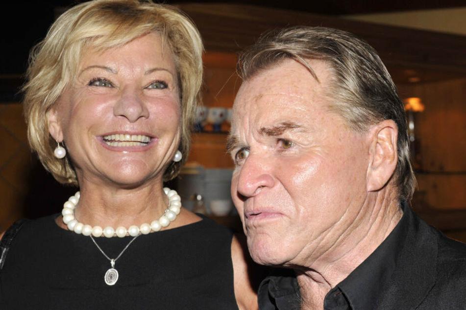 Angela Wepper und ihr Mann Fritz auf einer Veranstaltung im Jahr 2009.