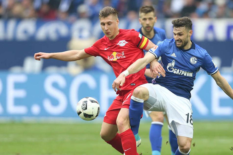 RB Leipzig will beim Spiel gegen FC Schalke 04 ein Zeichen setzen.