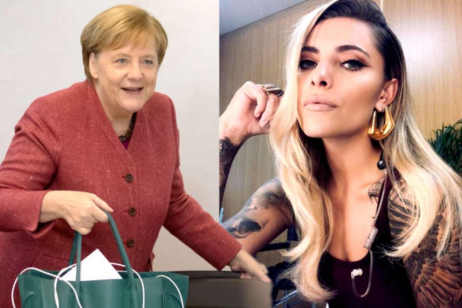 """Sophia Thomalla und Merkel: """"Wir verbringen Weihnachten zusammen!"""""""