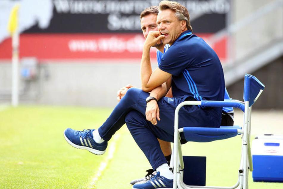 Horst Steffen ist die Ruhe in Person. Trotz des Sieges hebt er nicht ab, sondern nennt sogar die Schwachstellen des CFC.