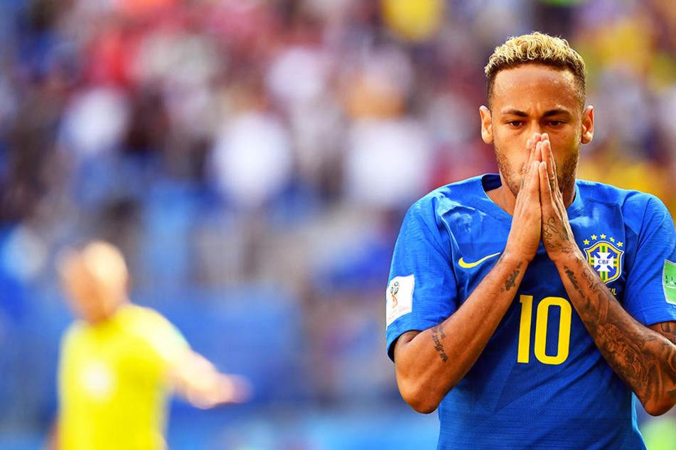 """Neymar äußert sich zu Schwalben: """"Leide auf dem Platz"""""""