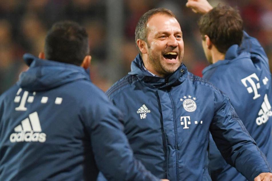 Job gesichert: Hansi Flick bleibt bis Saisonende Cheftrainer der Bayern. (Archiv)