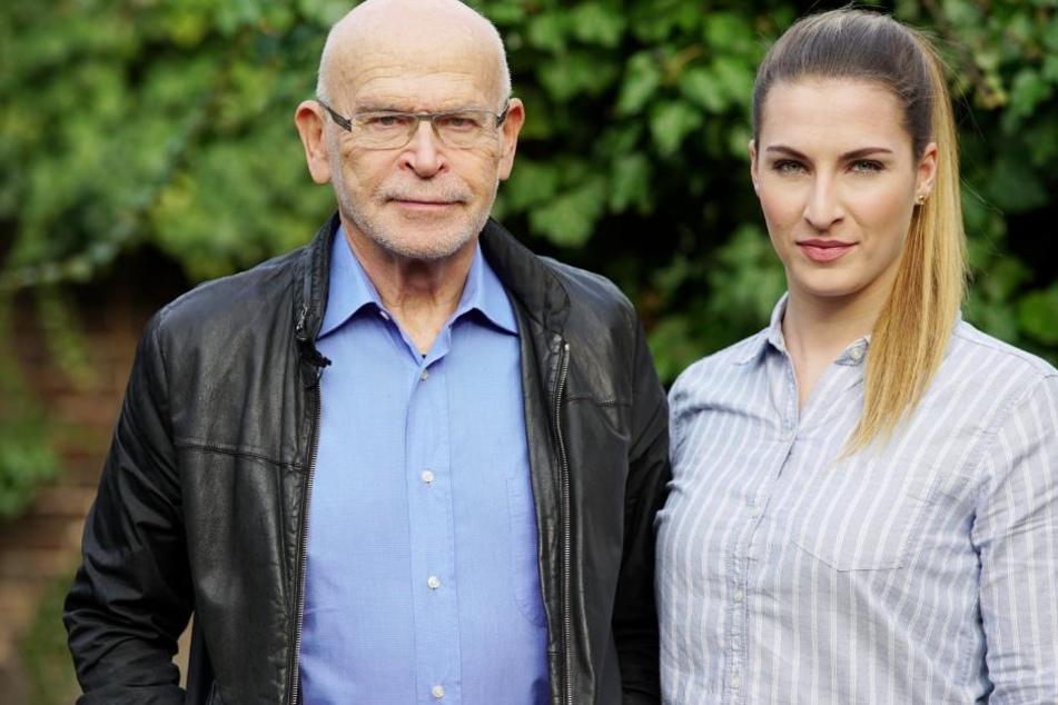 Günter Wallraff mit Undercover-Reporterin Caro Lobig