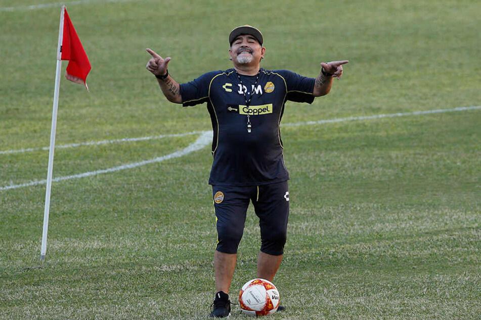 Diego Maradona (57) stand zuletzt des Öfteren in den Schlagzeilen.