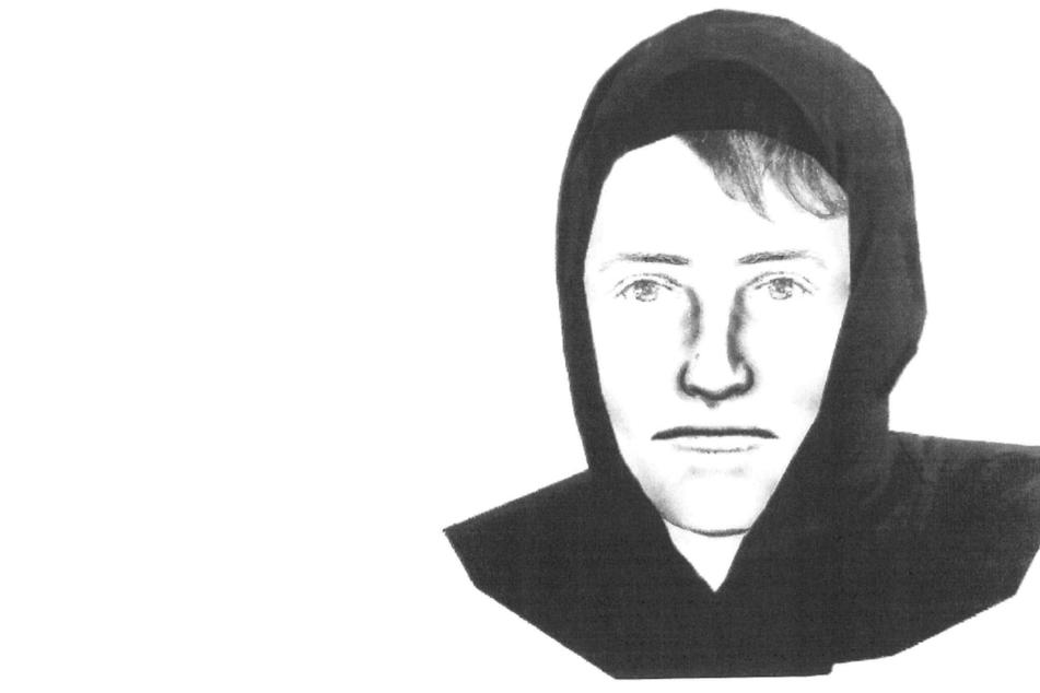 Frau getreten und gewürgt: Polizei sucht mit Phantombild