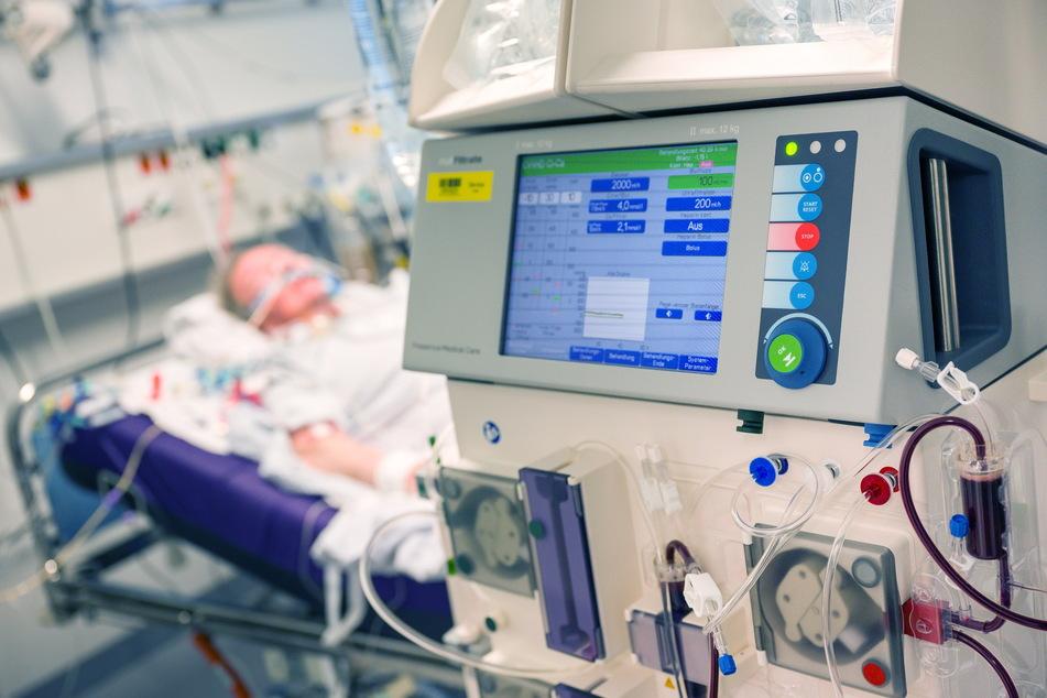 37 Corona-Patienten lagen am Sonntag auf einer Chemnitzer Intensivstation. 20 von ihnen mussten beatmet werden.