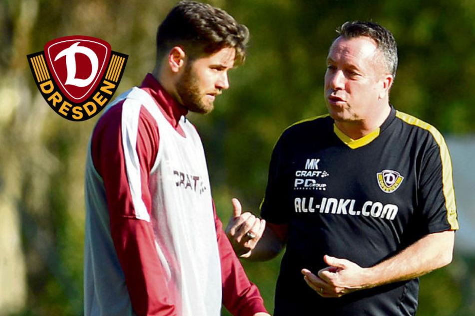 """Dynamo mit straffem Plan, aber Kreuzer lamentiert nicht: """"Sind gut drauf!"""""""