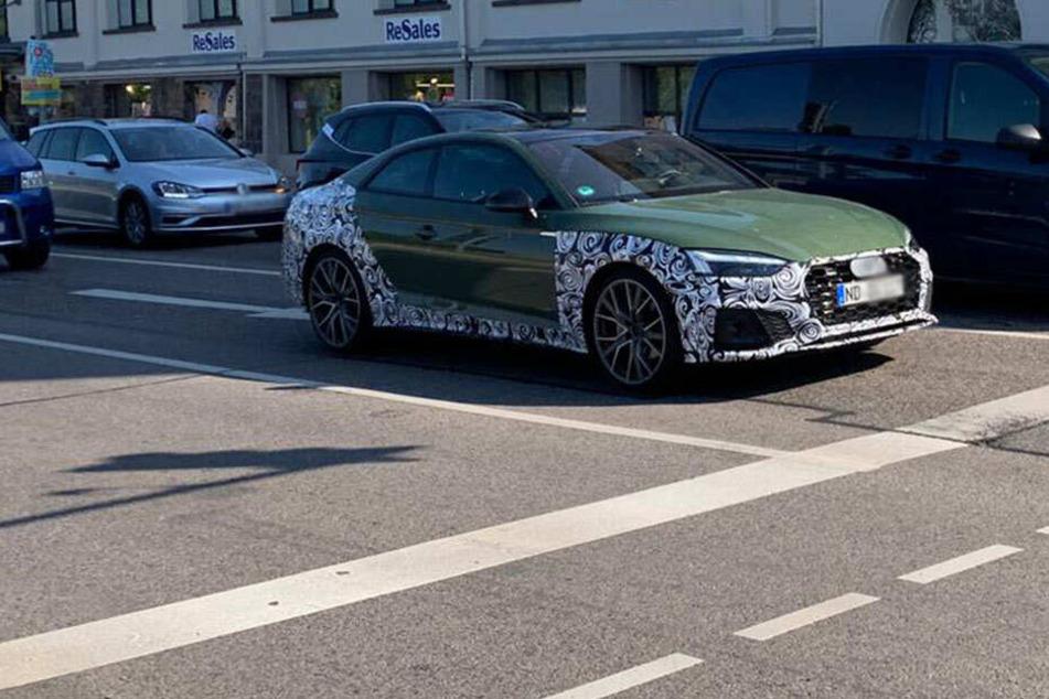 Chemnitz: Erlkönig in Chemnitz entdeckt! Was fährt denn hier durch die City?