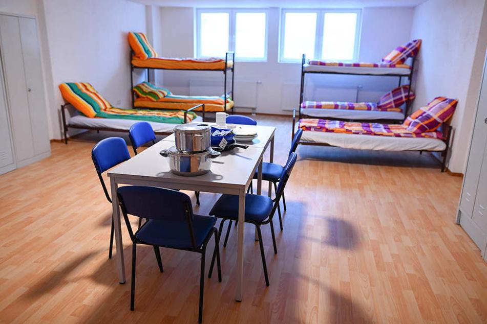 So sieht es in einem Asylbewerberheim in Ketsch aus.