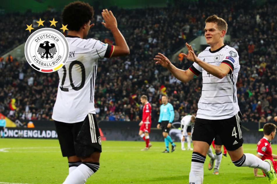 Ginter und Kroos mit Traumtoren! DFB-Elf schlägt Weißrussland klar und bucht EM-Ticket