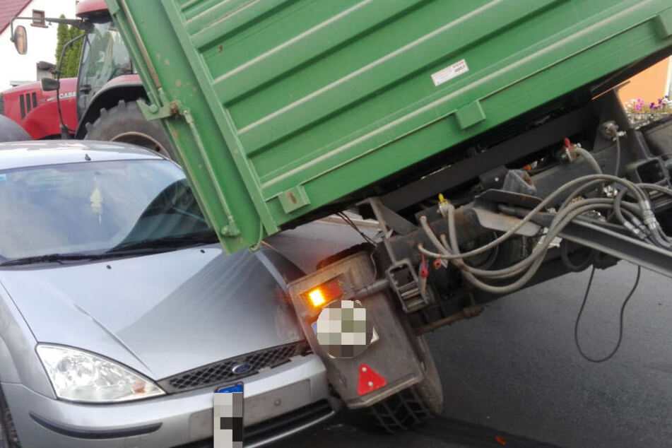 Bei dem Unfall wurde glücklicherweise niemand verletzt.