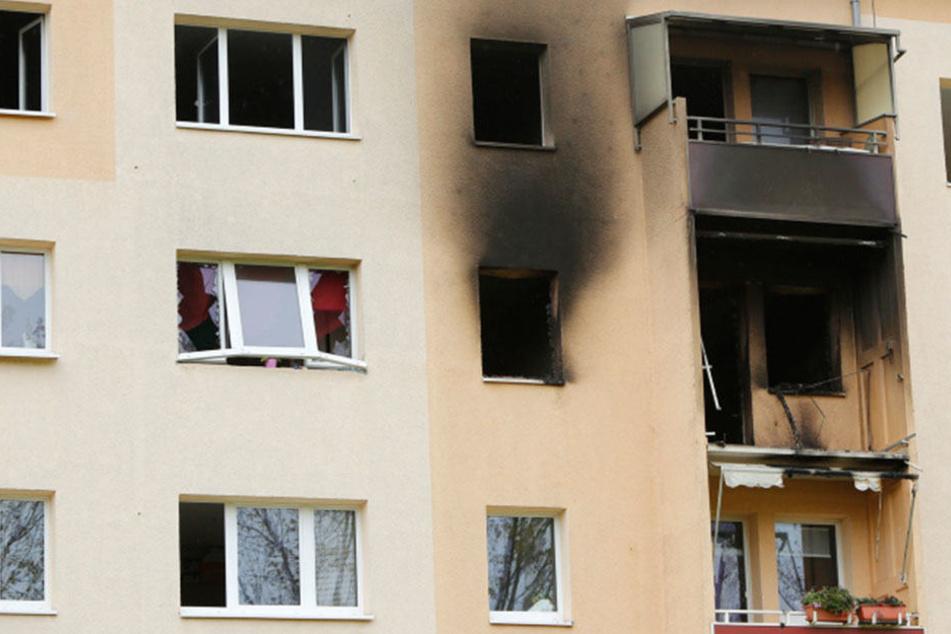 Explosion in Leipzig: Splitter flogen hundert Meter weit