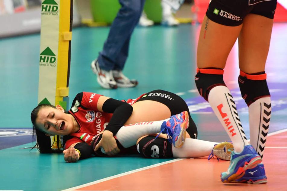 In diesem Moment war Hodanová wohl klar: Hier ist etwas kaputt.