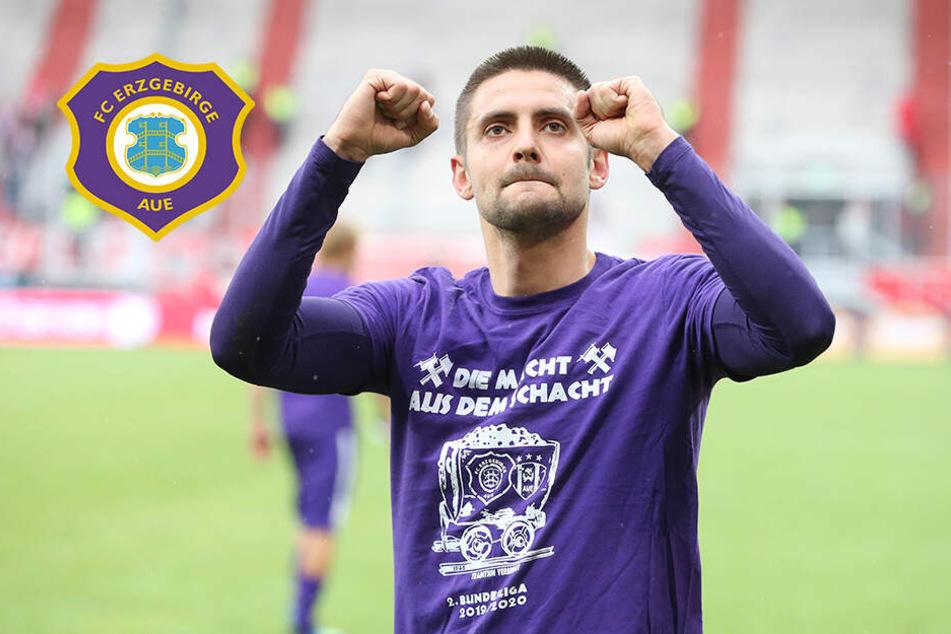 """Aues Nazarov mit Kampfansage für die Saison: """"Mit mir ist noch zu rechnen!"""""""