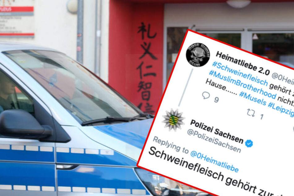 Schweinefleisch-Debatte in Leipziger Kita: So reagiert Sachsens Polizei auf Vorwürfe