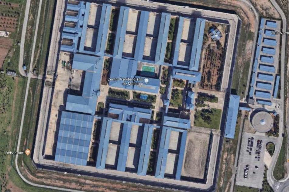 Das Gefängnis in Palma de Mallorca. Es gilt als eines der schlimmsten in ganz Spanien.