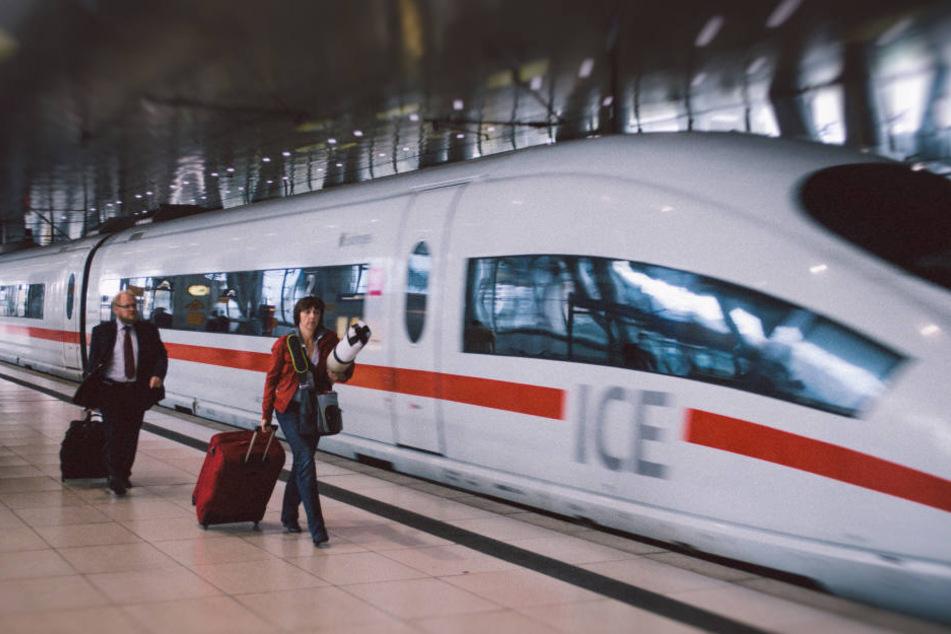 Fahren bald ICE von Chemnitz nach Leipzig? (Symbolbild)