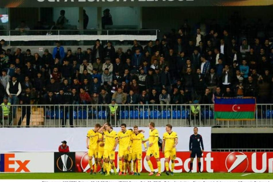 Dortmund gewann Mittwochabend gegen Sporting Lissabon mit 1:0.