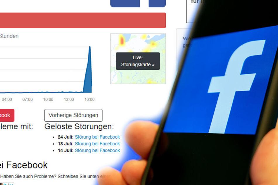 Facebook down! Massive Probleme für Internet-Riesen
