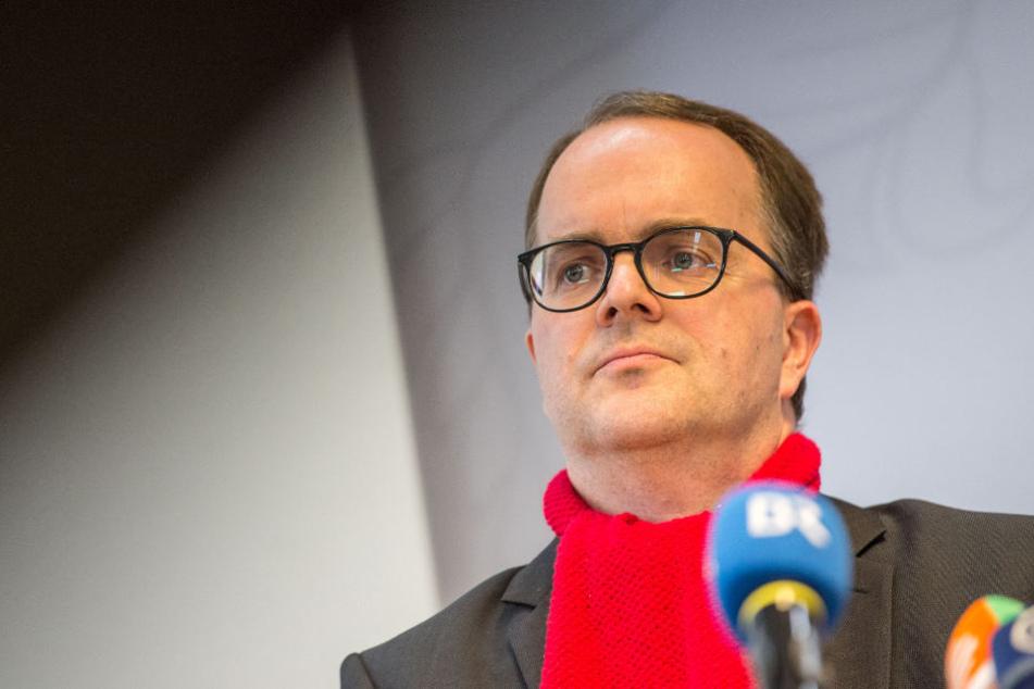 Markus Rinderspacher tritt als Fraktionsvorsitzender der SPD im bayerischen Landtag zurück.