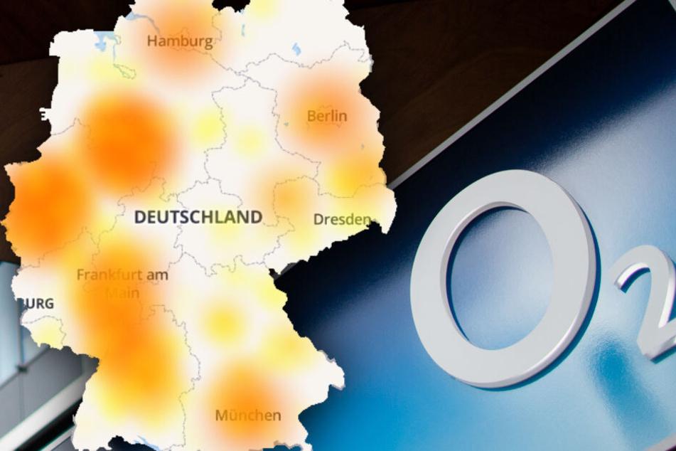 Störungen bei o2 in nahezu ganz Deutschland: Kunden wütend