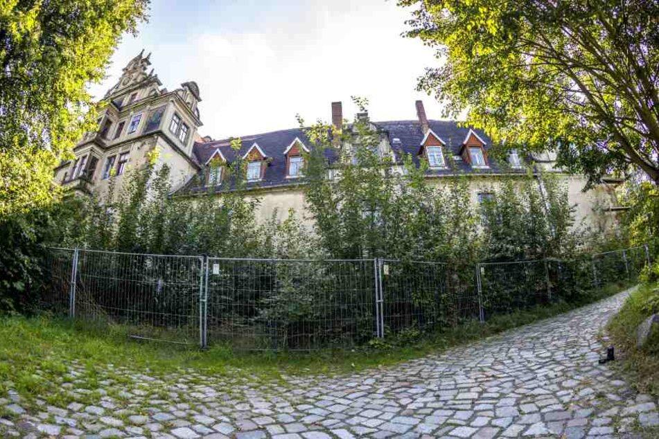 Der versuchte Einbruch in Schloss Gauernitz endete für einen Dresdner auf dem Revier. Sein Komplize wird noch gesucht...