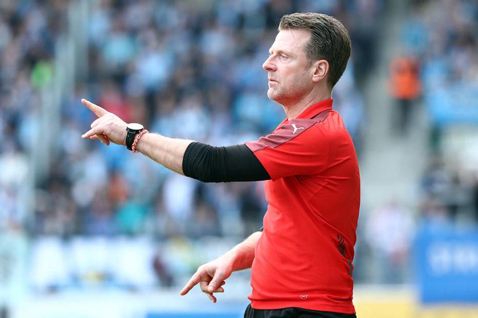 Rico Schmitt wird in der kommenden Saison nicht länger den Halleschen FC trainieren.