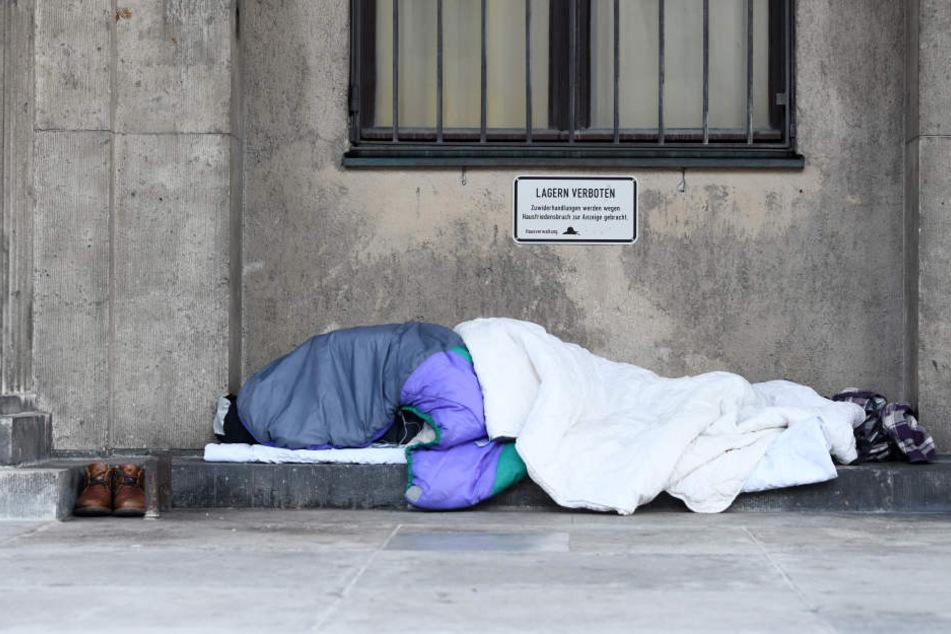 Allein in München leben geschätzt 500 Menschen auf der Straße.