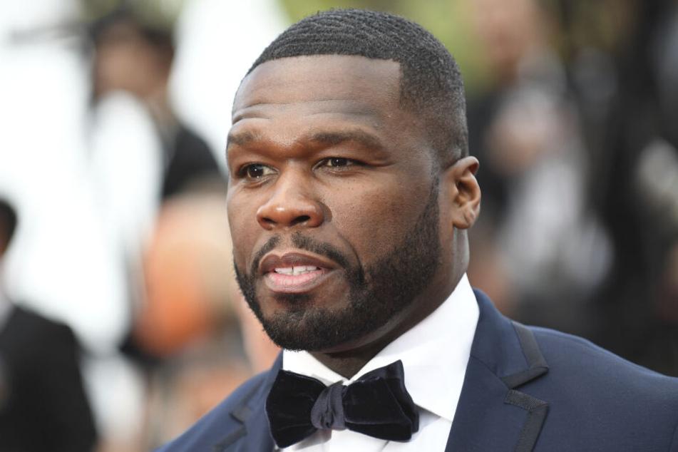 Rapper 50 Cent zeigt sich schockiert.