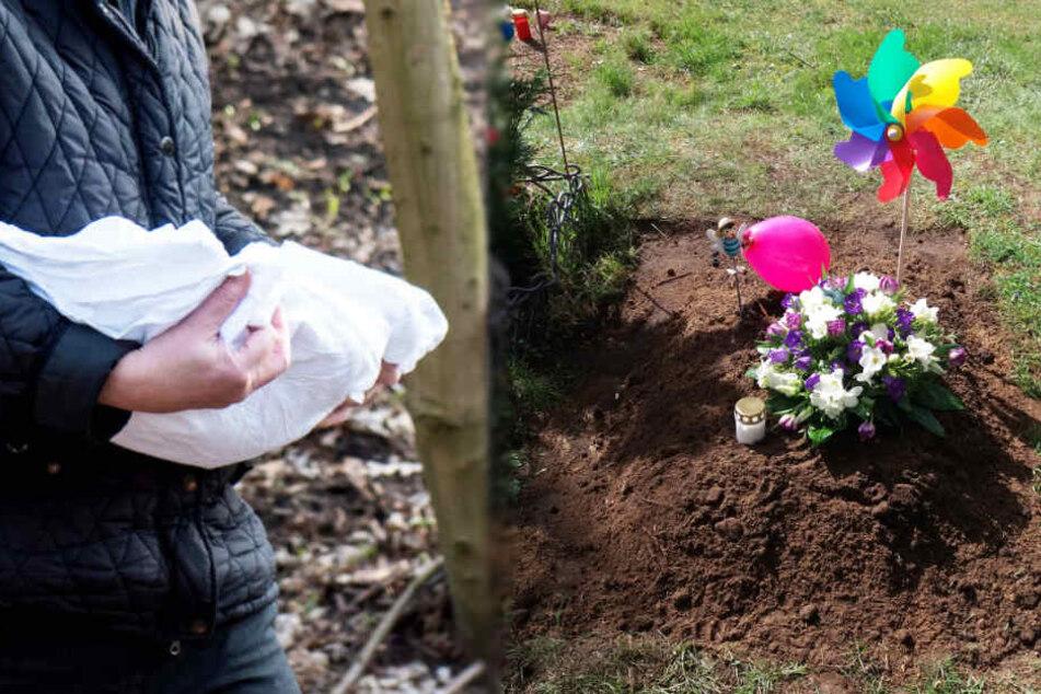 Nach Fund einer Babyleiche: Toter Säugling beerdigt, Mutter immer noch nicht ermittelt