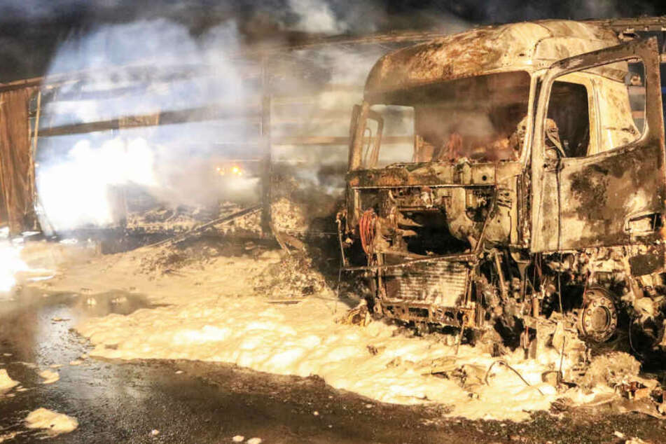 Lkw-Brand mit Folgen: A3 bleibt bis mindestens Mitternacht gesperrt!