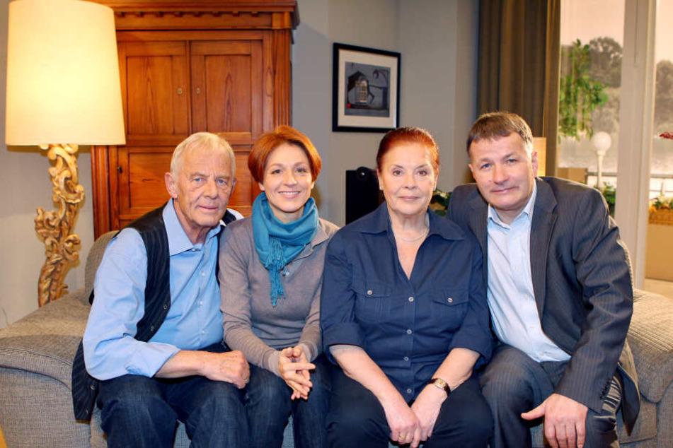"""Im Jahr 2017 musste Ursula Karusseit (†79) """"In aller Freundschaft"""" gesundheitsbedingt verlassen."""