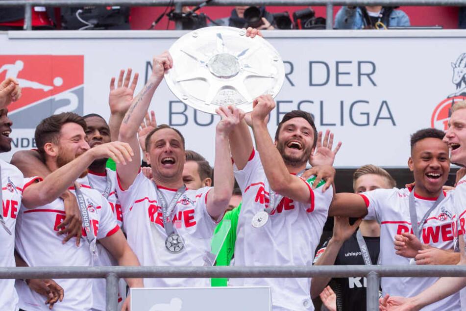 Der 1. FC Köln feierte im Sommer 2019 die Meisterschaft nach einer weitgehend glanzlosen Zweitligasaison.