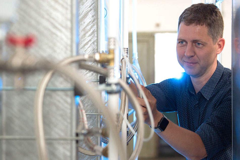 Forscher Joachim Seifert tüftelt an der TU zu künftiger Energietechnik.