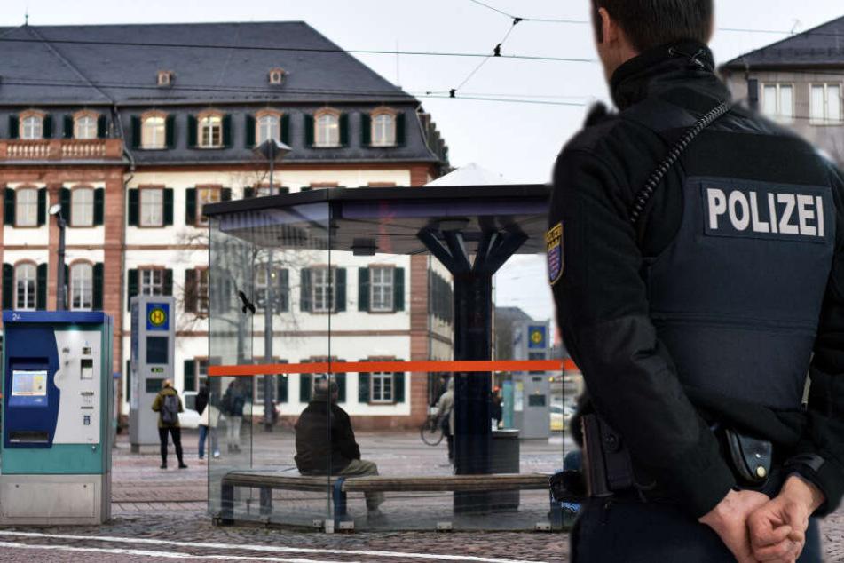 Darmstadt Polizeieinsatz