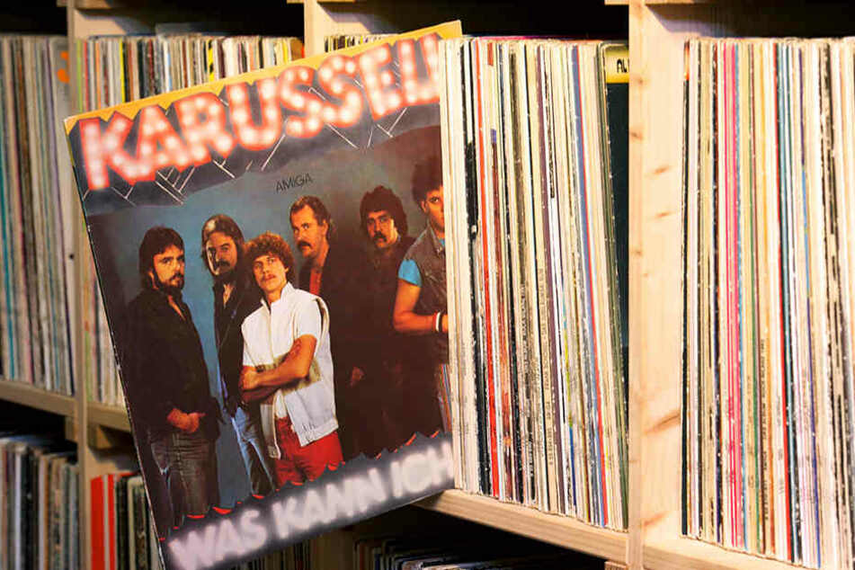 """Damals war's... 1984 stand die Schallplatte """"Karussell - Was kann ich tun"""" in zahlreichen DDR-Wohnzimmer-Regalen."""