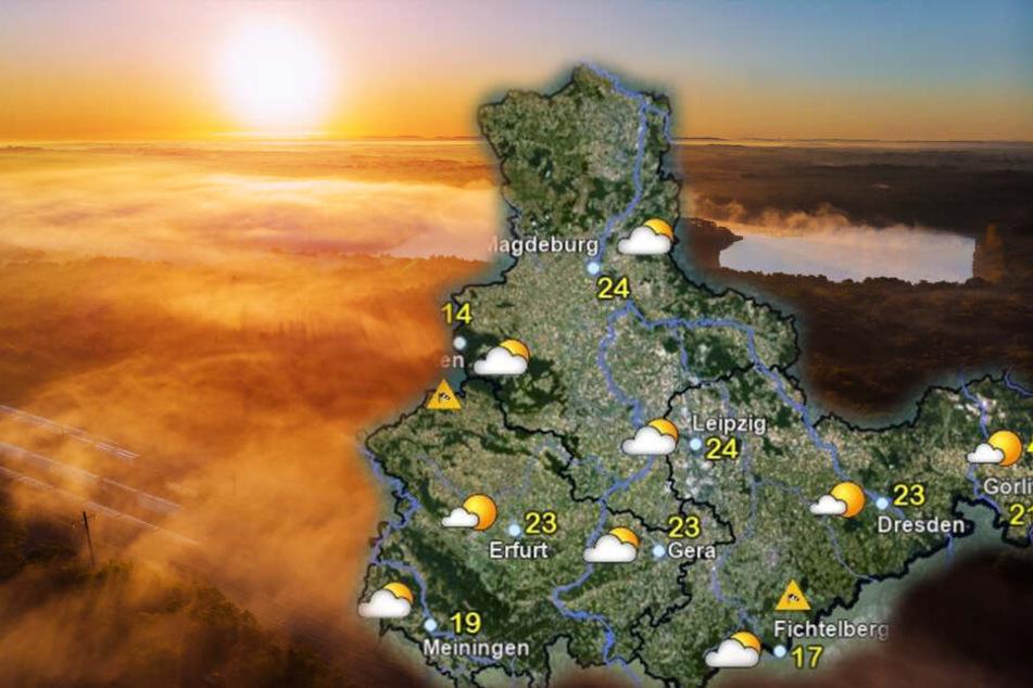 Am Sonntag stehen uns spätsommerliche Temperaturen bevor.