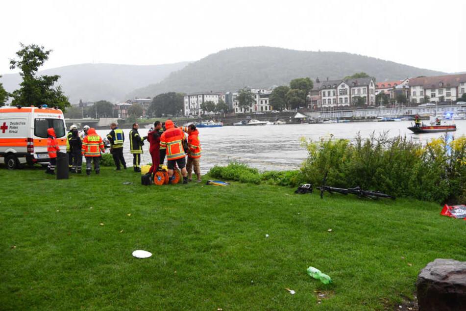 Tragischer Unfall! 32-Jähriger ertrinkt im Neckar
