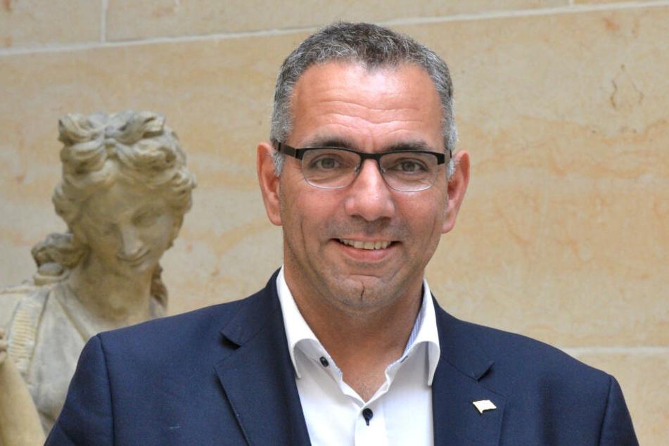 Johannes Lohmeyer (55) leitet den Tourismusverband Dresden.