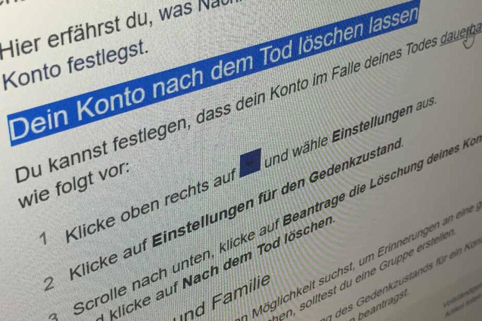 1,4 Milliarden tote Online-Profile! FDP fordert Regelung um digitales Erbe