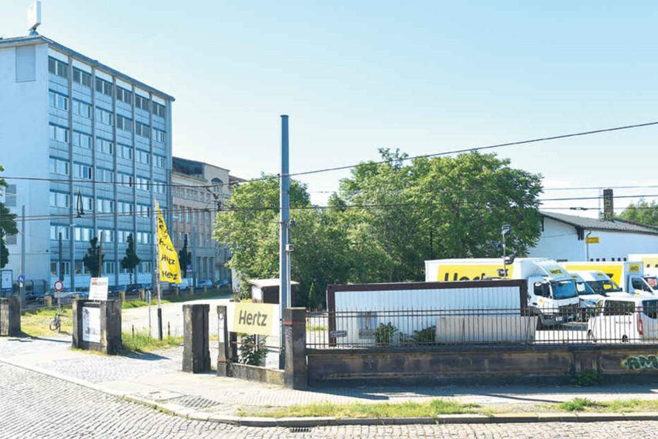 Hier an der Leipziger Straße will sich Globus ansiedeln. Der Stadtrat beschloss  jetzt aber, dass nach einem Alternativstandort gesucht werden muss.