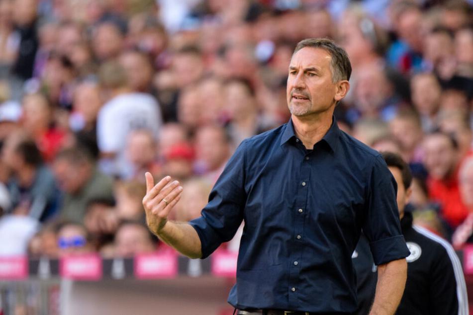 FC-Coach Achim Beierlorzer (51) will nach der Pleite in München das Heimspiel gegen Berlin gewinnen.