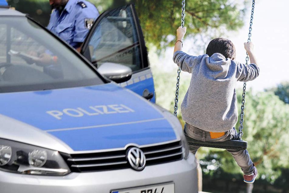 Weil der Dreijährige auf dem Spielplatz bleiben wollte, löste er einen Polizeieinsatz aus.