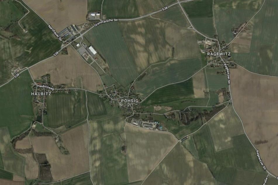 Das Dorf Pöhsig ist ein Ortsteil von Grimma im Landkreis Leipzig.