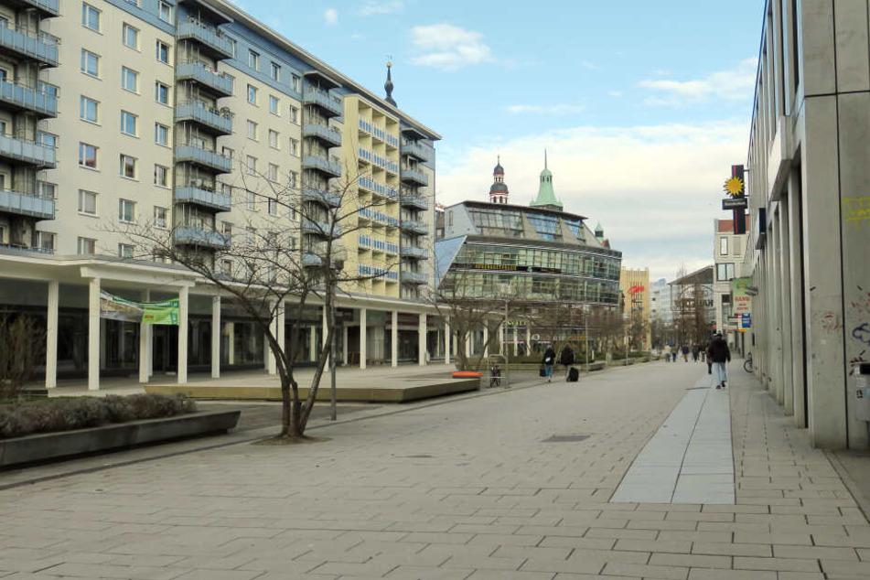 Vor einem Laden am Rosenhof wurde ein 46-Jähriger von zwei Jugendlichen attackiert (Archivbild).